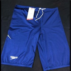 NWT Speedo Racing shorts 38
